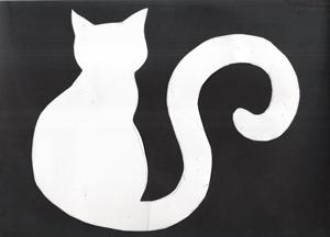 kočka.