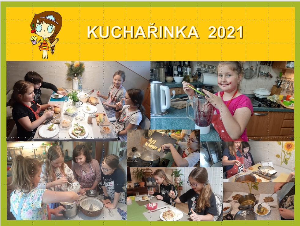obrázek Kuchařinka koláž